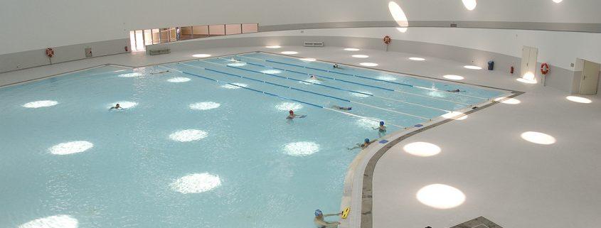Tanquem la piscina interior del pell del 2 de juny al 31 d for Piscina can mercader